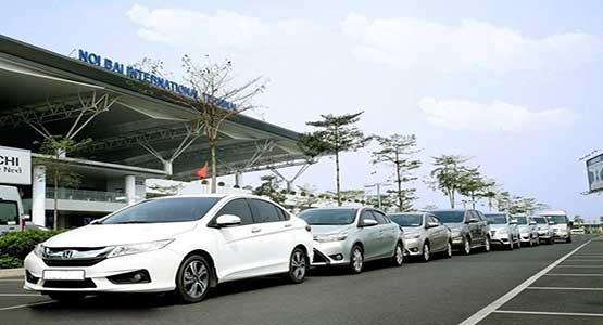 Top những hãng taxi sân bay Nội Bài uy tín